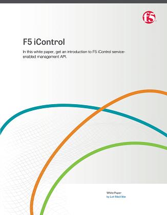 F5 iControl